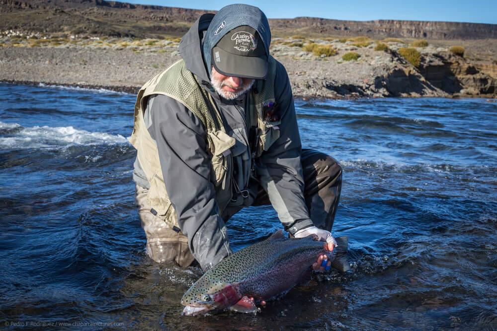 pesca con mosca rio barrancoso